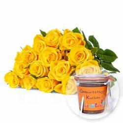 Blumen und Präsente von Valentins. Angebot
